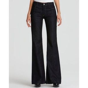7 For All Mankind| Ginger Wide Leg High Waist Jean